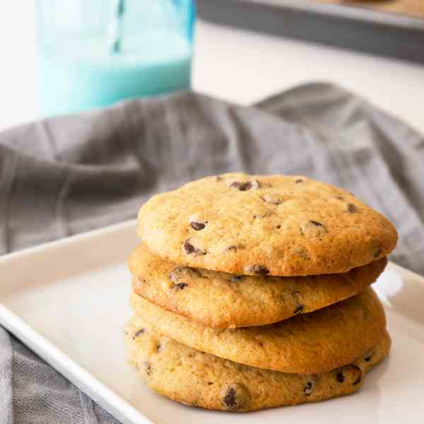 Spicy Banana Chocolate Cookies