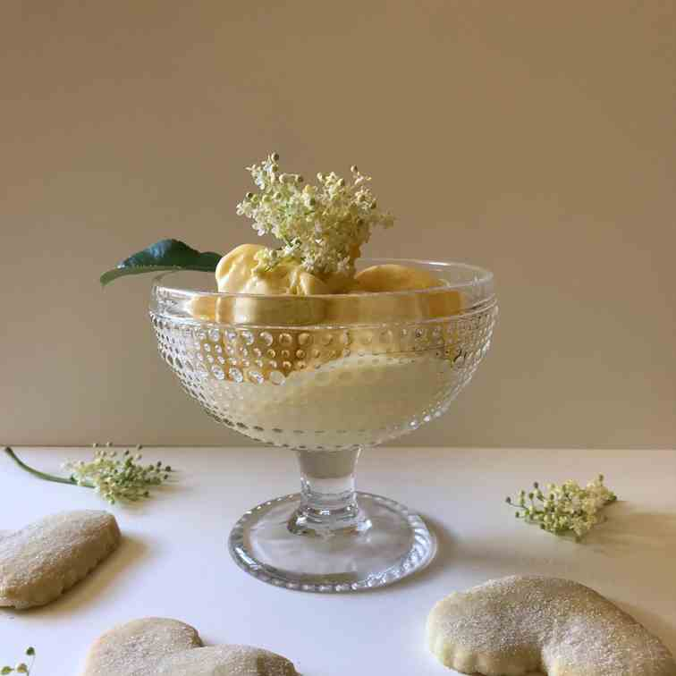 Elderflower Ice-cream
