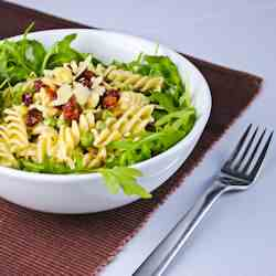 Creamy Fusilli Salad with Sundried Tomatoe