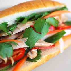 Vietnamese Roasted Chicken Sandwich