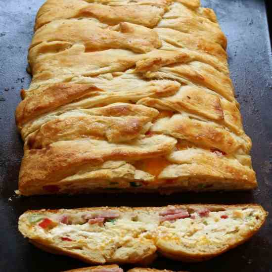 Savory Breakfast Braid