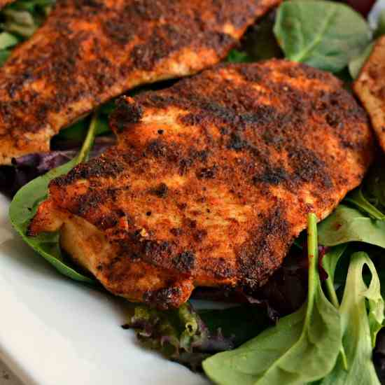 Easy Blackened Chicken
