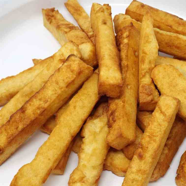 Panisse (Chickpea Fries)