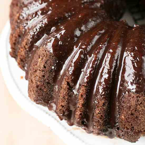 Dark Chocolate Avocado Cake