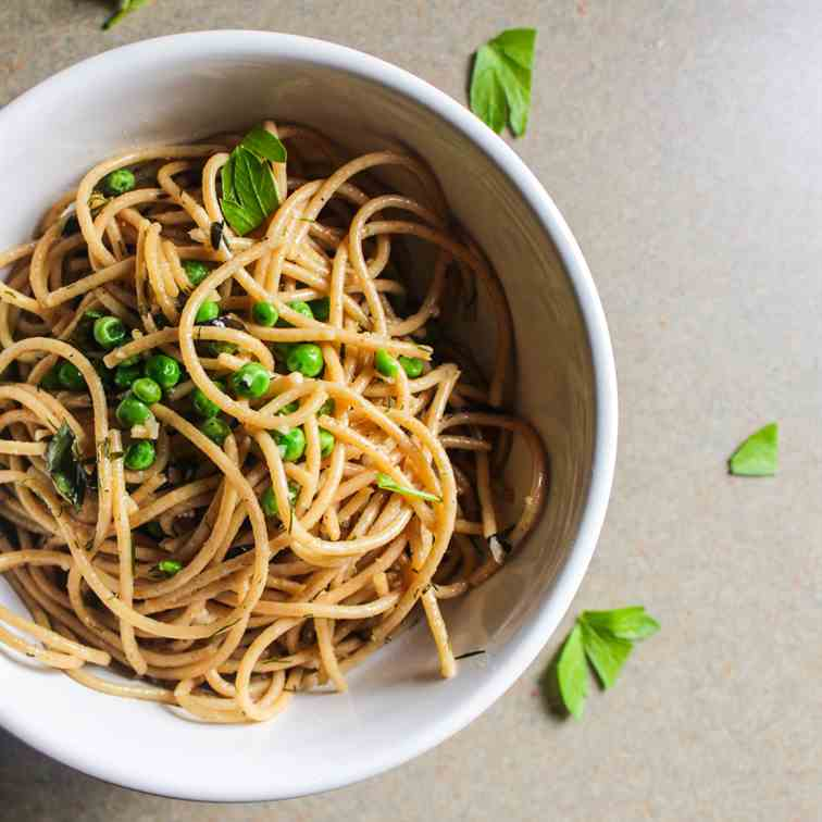 Light Summer Pasta with Fresh Herbs