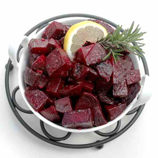 Rosemary Lemon Beets