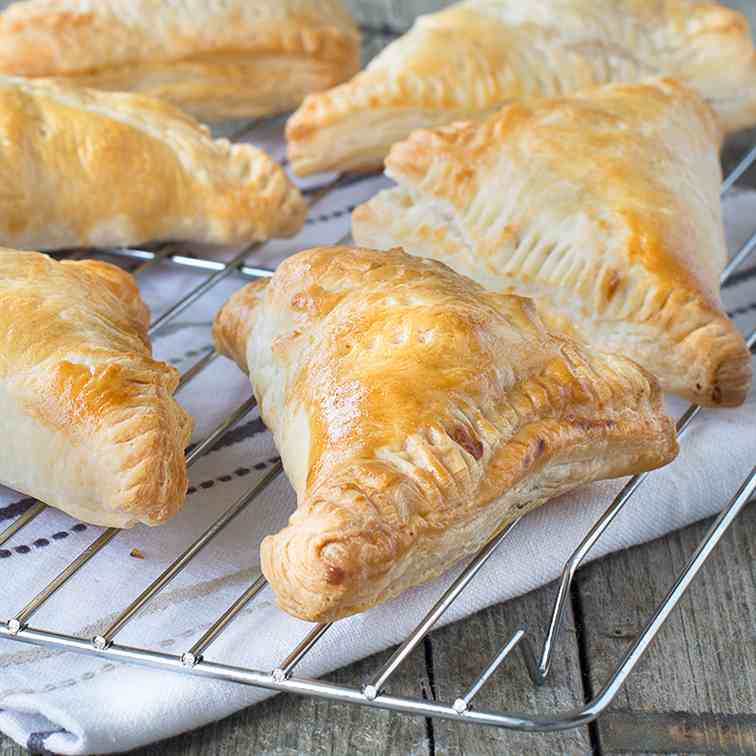Easy Chicken - Vegetable Pasties