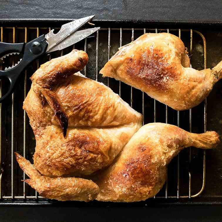 Ridiculously Simple Oven Roasted Chicken
