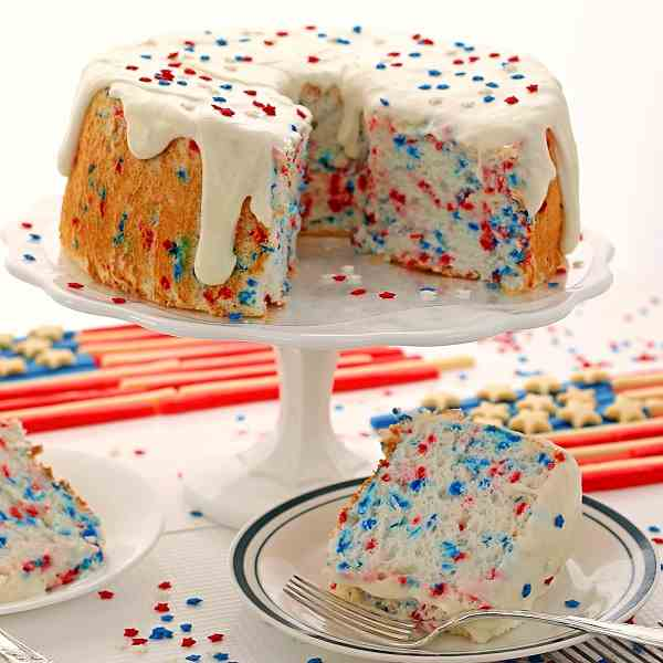 Fat Free Funfetti Angel Food Cake