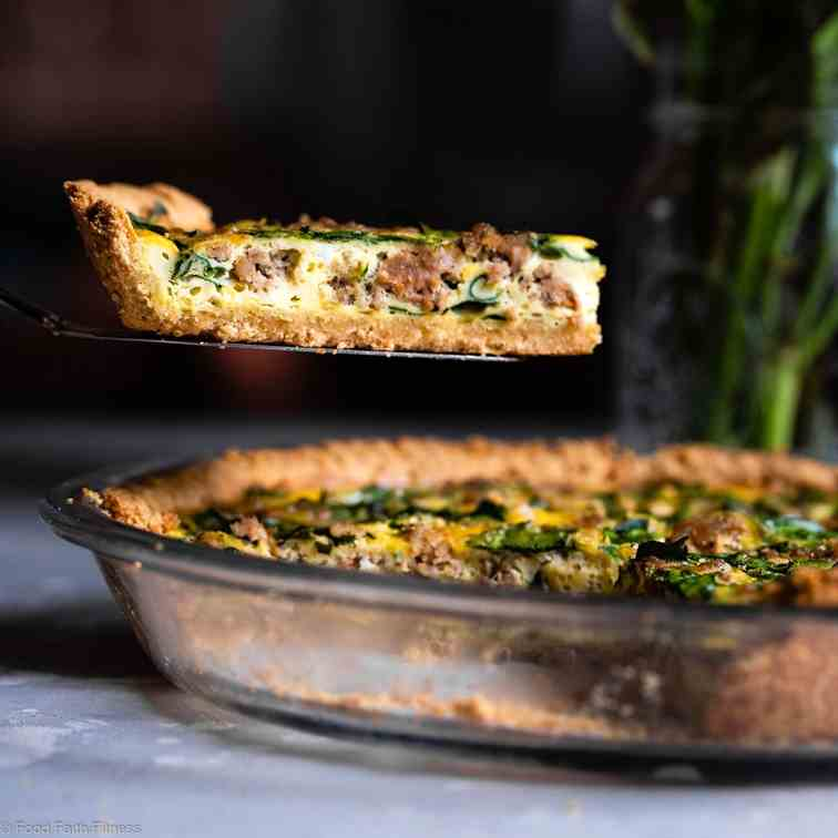 Gluten Free Low Carb Quiche