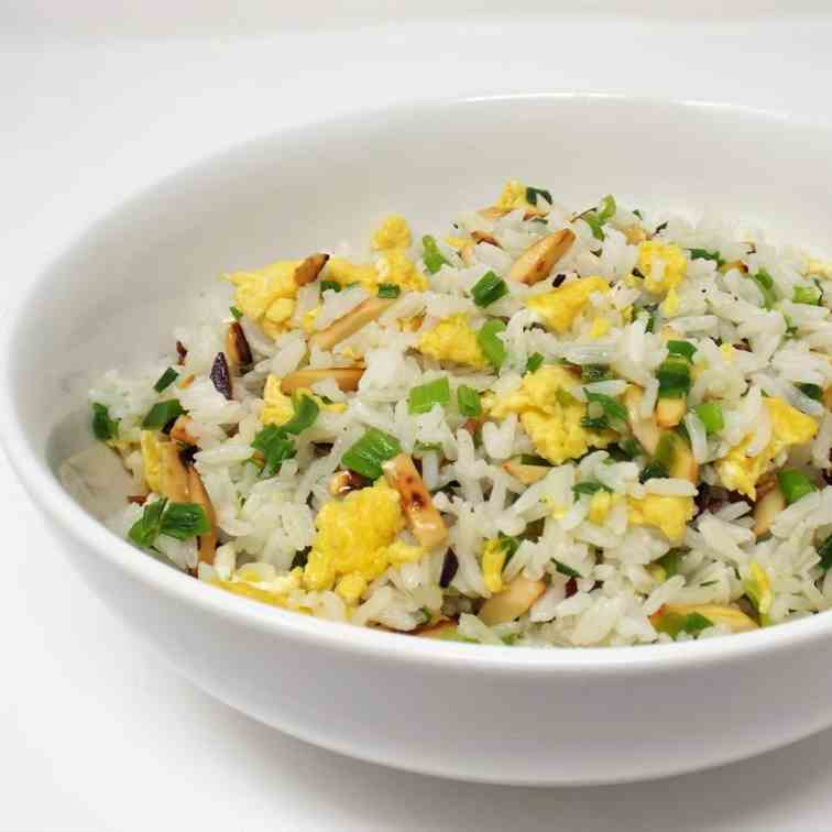 Almond Fried Rice