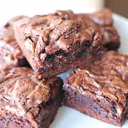 Nutella-Chip Brownies