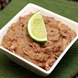 Super Simple Refried Beans