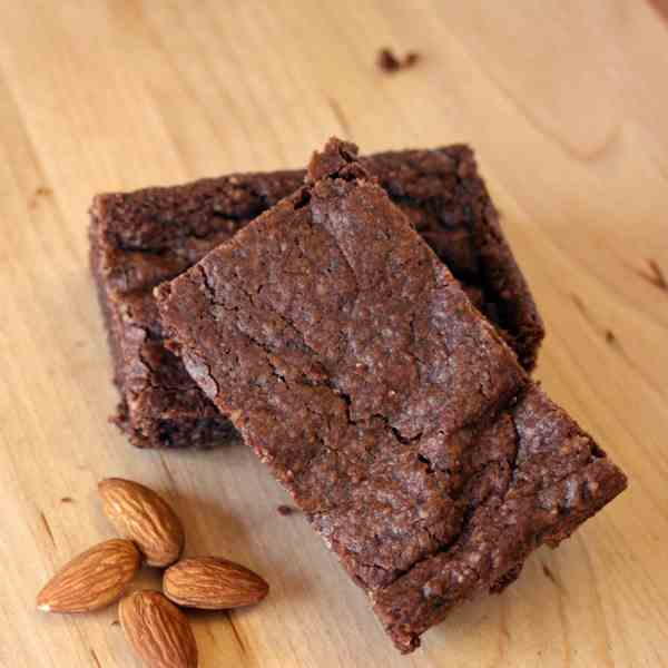 Vegan and Gluten-Free Almond Brownies