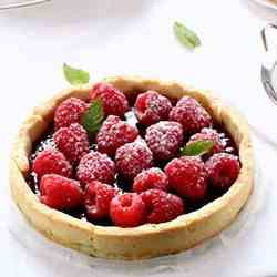 Strawberry and berries tart