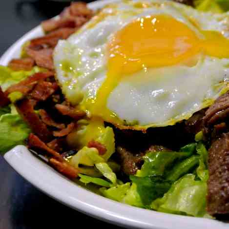 Shaking Beef Cobb Salad
