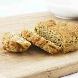 Grain-Free, Yeast-Free Flax Mini Loaf