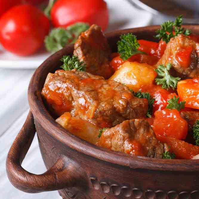 Paleo Beef and Tomato Stew