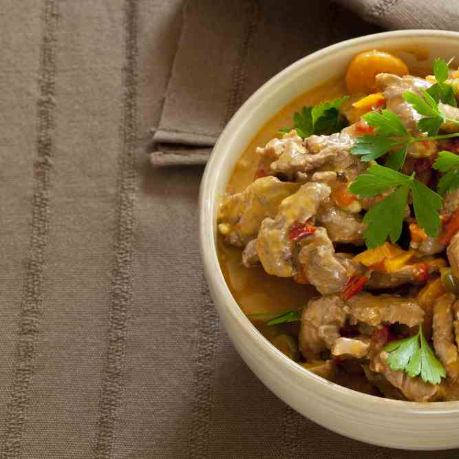 Paleo Thai Beef Curry