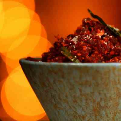 South Indian Kitchen- Beetroot Poriyal