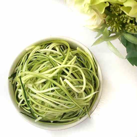 Healthy Zucchini Noodles