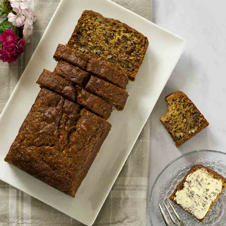 Easy Vegan Banana Cake