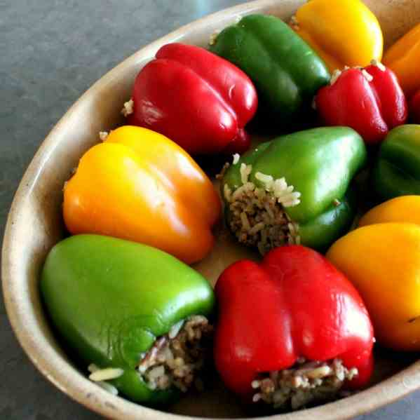 Stuffed Mini Capsicum