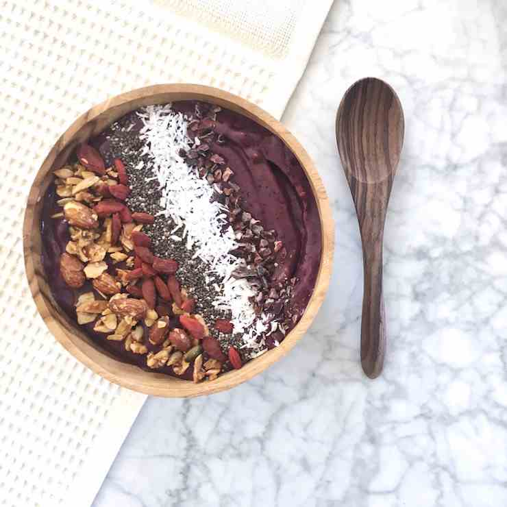 Detoxifying Acai Bowl