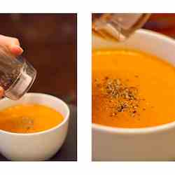 Sweet & Spicy Butternut Squash Soup