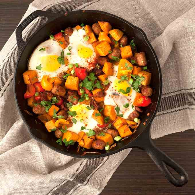 Sweet Potato Breakfast Hash