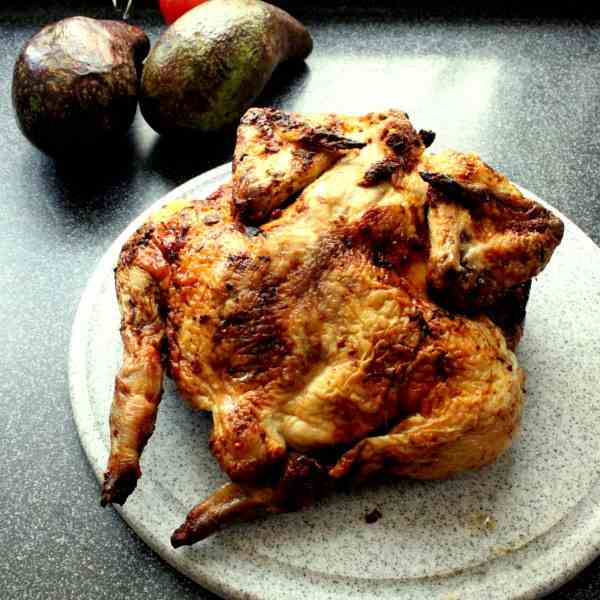 Chicken from the Barbie with 2 Marinades