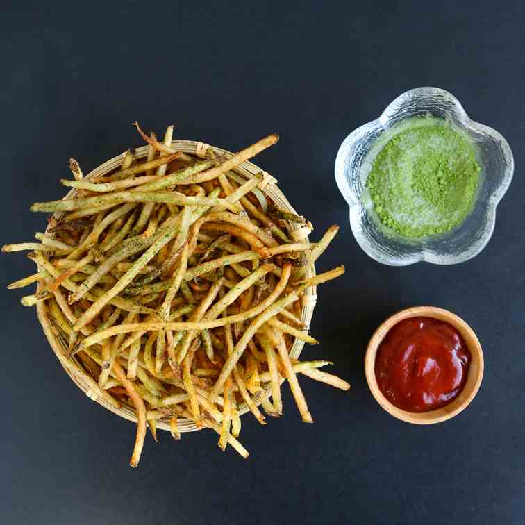 Matcha Sea Salt Fries