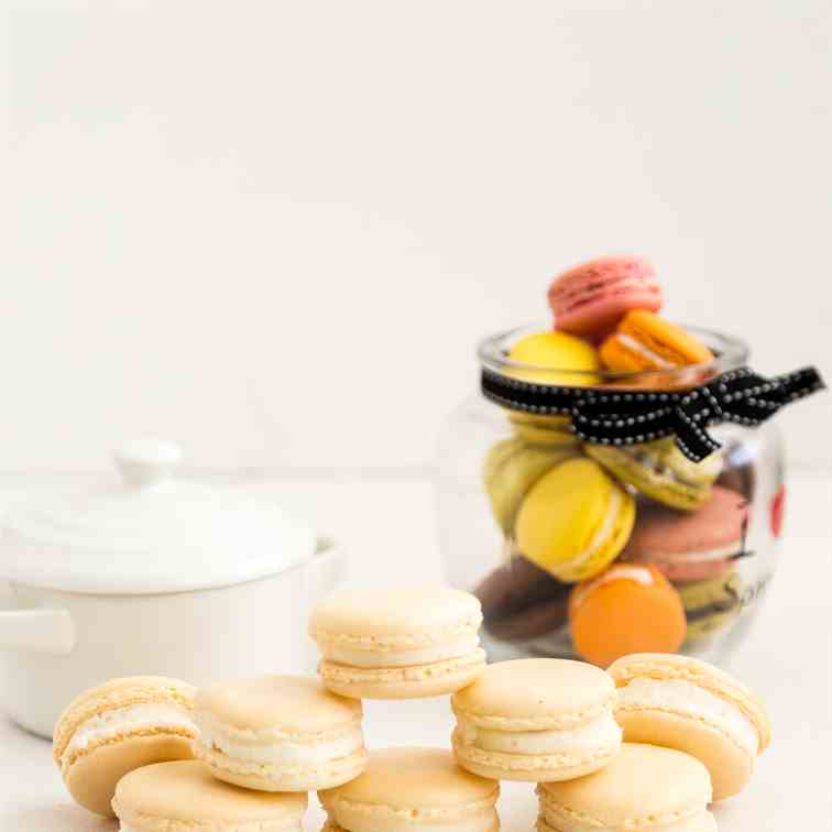 Vanilla French Macarons NO Fail Recipe