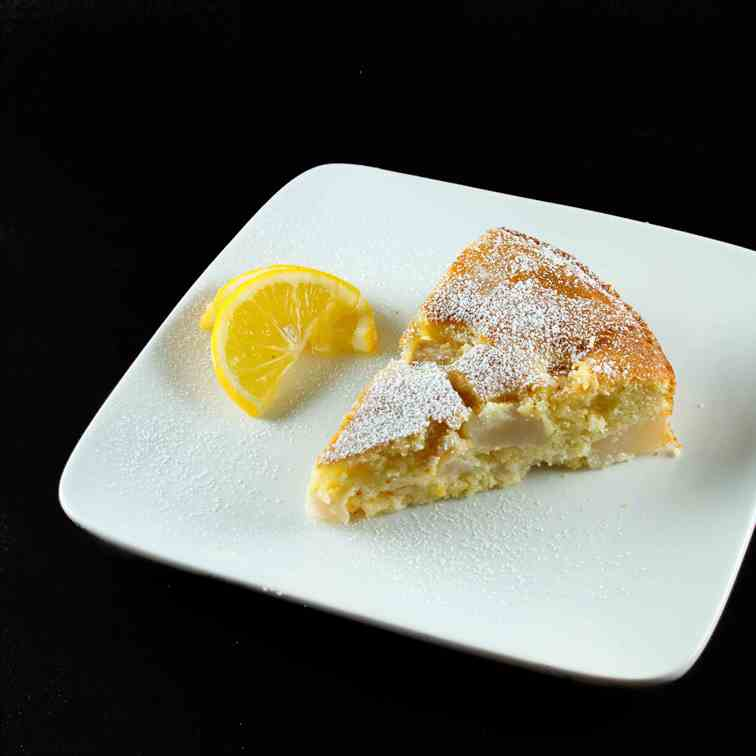 Italian Lemon-Pear Cake