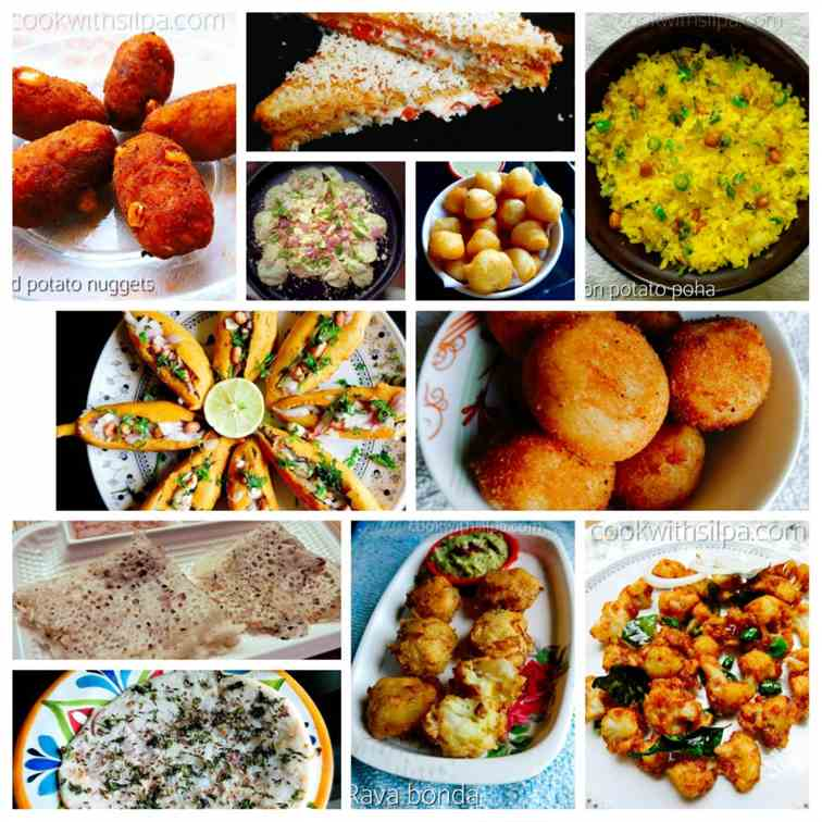 Easy snack recipes, Indian style