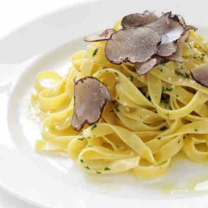 Black Summer Truffle Fettuccine Recipe