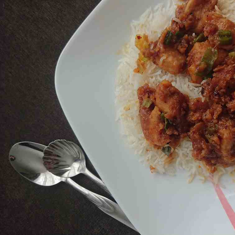 Air Fryer Gluten Free Honey Chicken