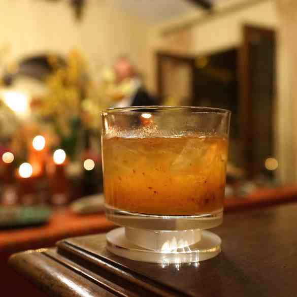 Peach Old-Fashioned