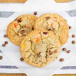 Reeses Pieces Cookies