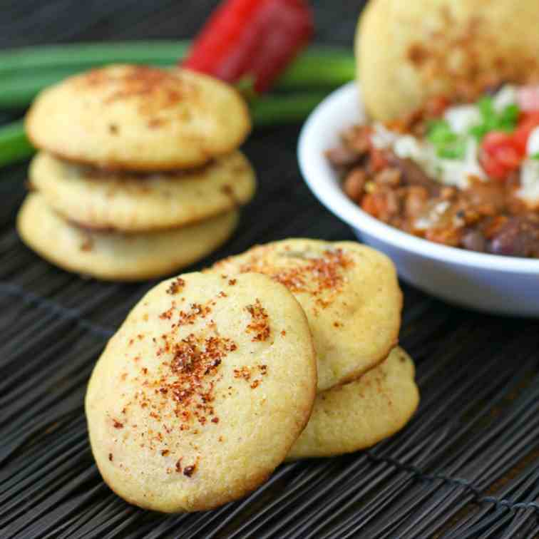 Sweet and Savory Cornbread Cookies