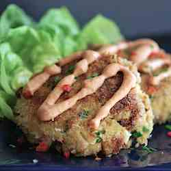 Sriracha Crab Cakes with Spicy Remoulade