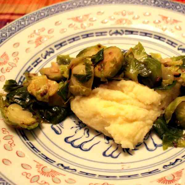 Brussels Sprout with Chia Seeds