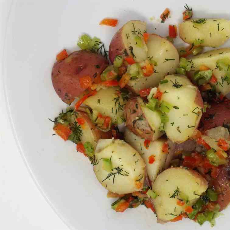 Dill Potato Salad with Dijon Vinaigrette