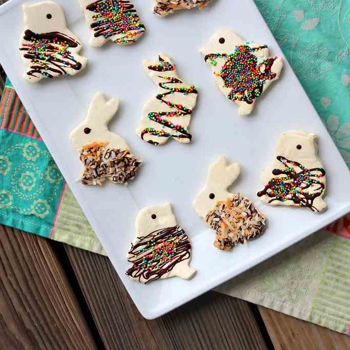 Easter Marshmallow Bunnies and Chicks