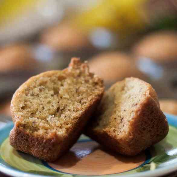 Easy Banana Bread Muffins