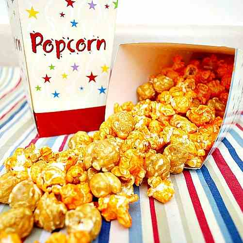 Homemade Chicago Mix Popcorn