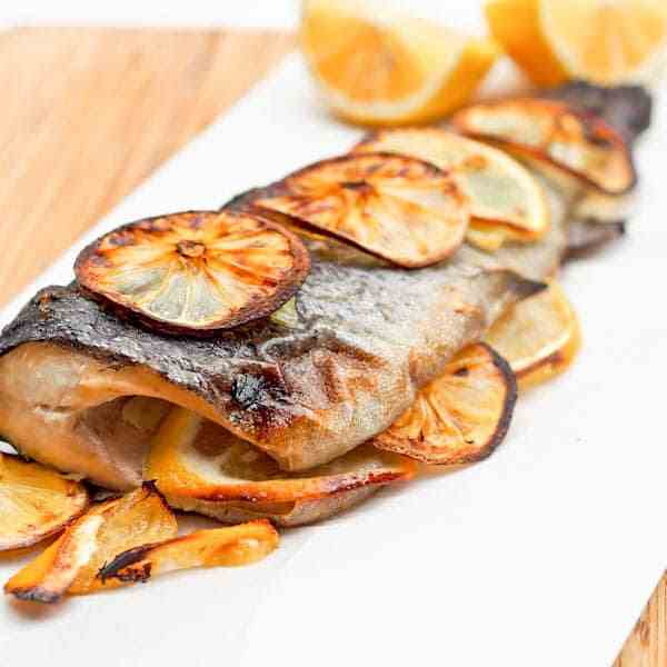 4 Ingredients Oven Baked Trout