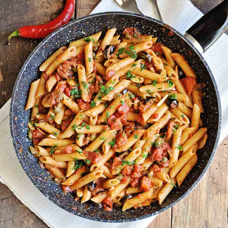 Spicy Penne Pasta
