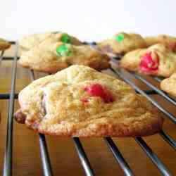 Pretzel M&M Chocolate Chip Cookies