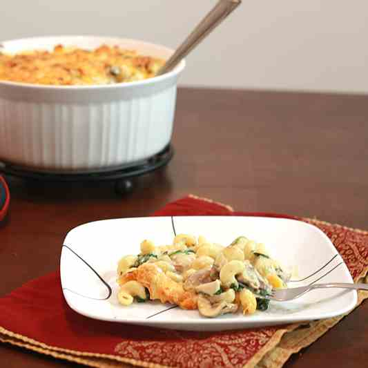 Three-Cheese Chicken Florentine